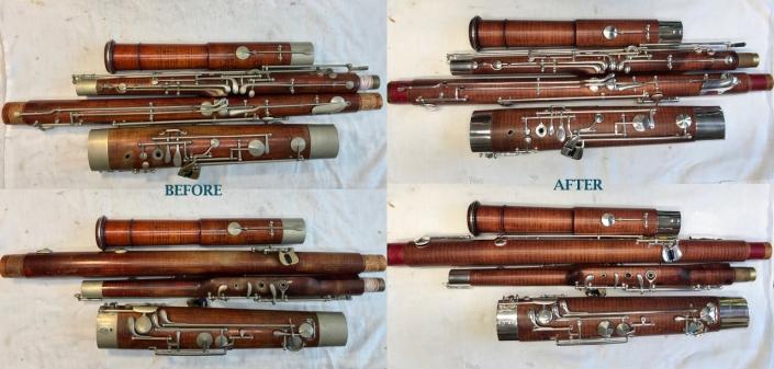 Heckel Bassoon Restoration Gallery – Paul Nordby Bassoon Repair